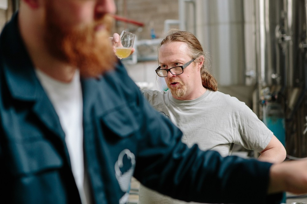 Tank Tasting at Cloudwater Brewery
