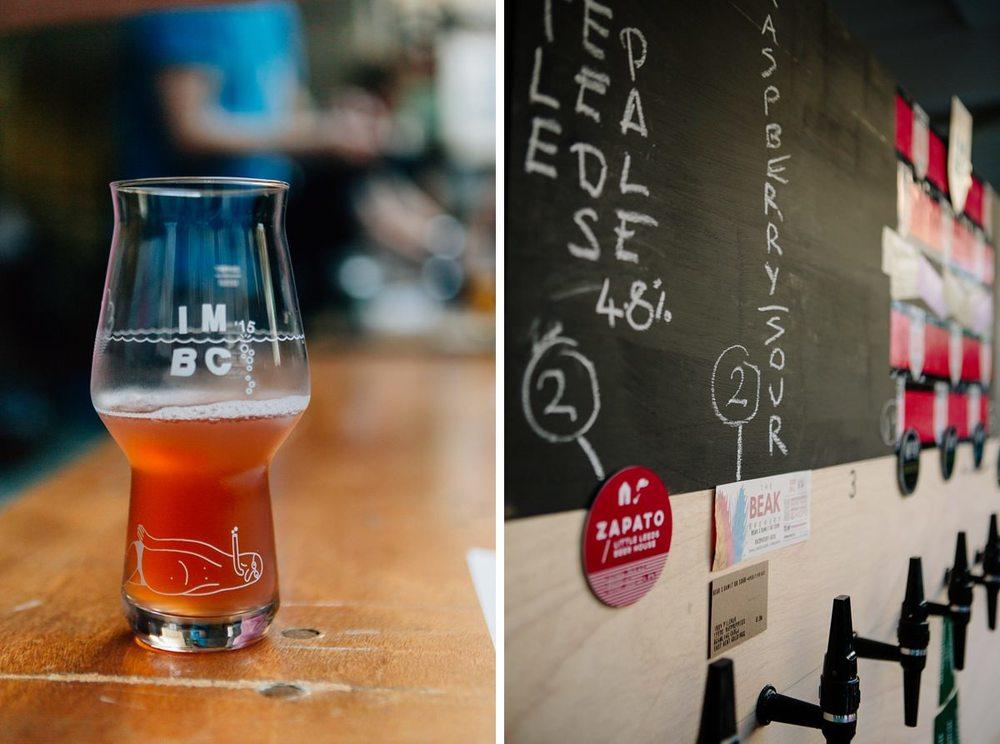 Beak Brewery Rasberry Sour Beer