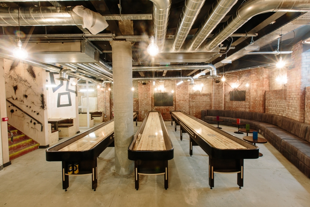 shuffleboards at shuffledog leeds by mark newton