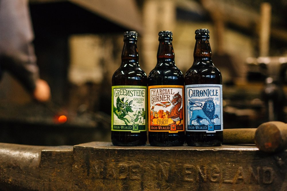 02 - High Weald Brewery product photography craft beer