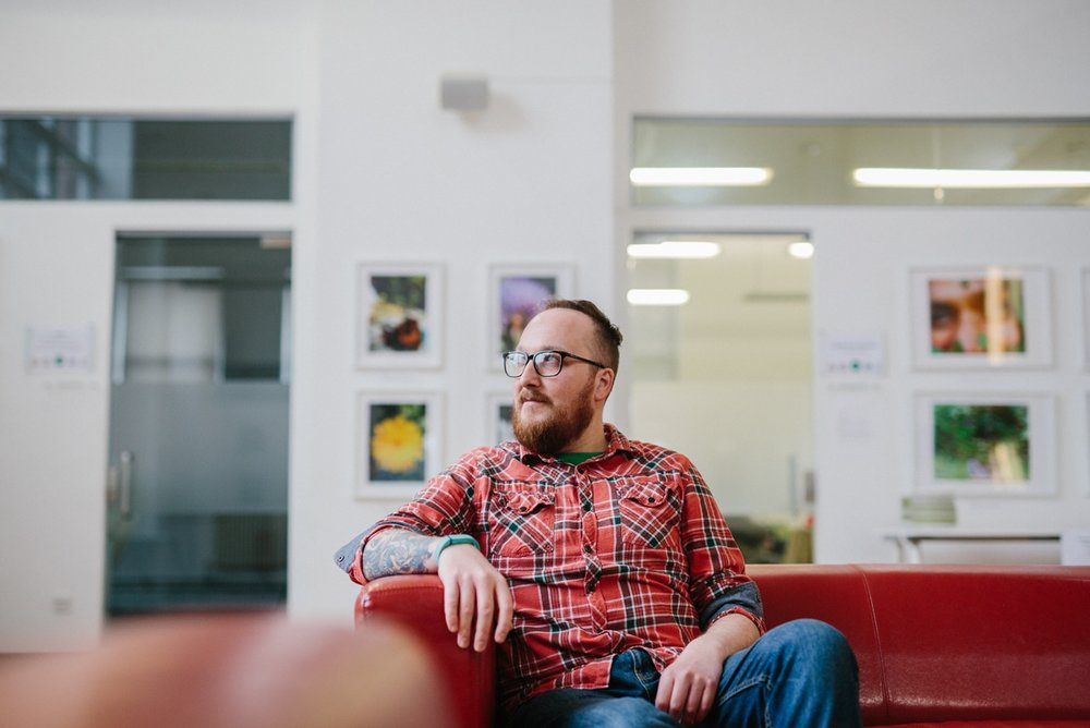 Portrait of Developer Rik Kendell from BML Creative, Leeds