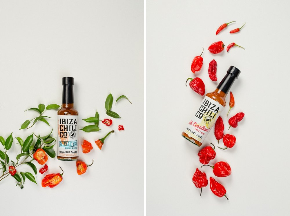 creative product photography craft beer bottles