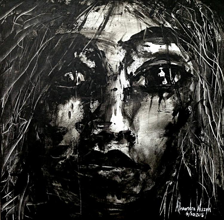 Acrylic on Canvas, 550 x 550 mm 6-10-15