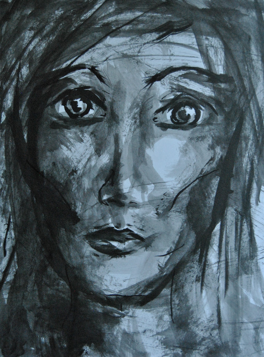 Indian Ink on Paper Board,297 x 420 mm, 14-10-15