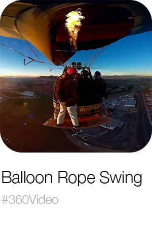 Balloon Rope Swing