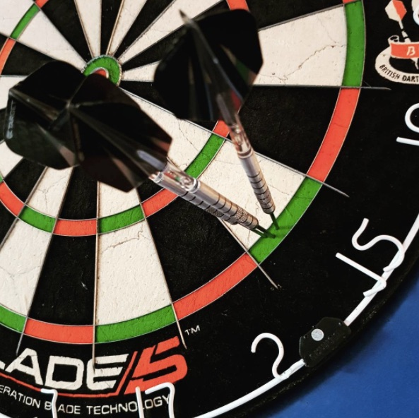 introducing darts at parkside tavern - We are very pleased to introduce the newest gaming aspect to Parkside Tavern.We have two brand new dart boards in our main bar which are rented out for £5 per hour so grab some mates, aim straight and step up to the oche!