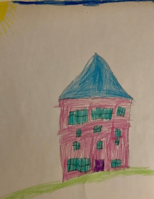Drawing courtesy of Adriana Macy age 6