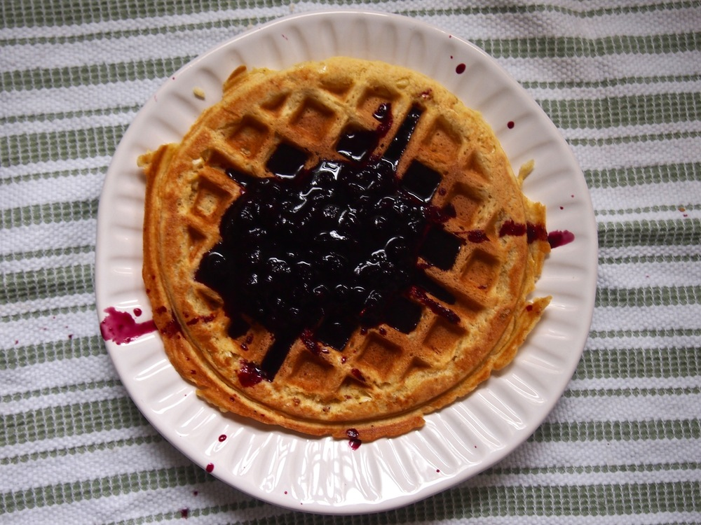 jackson pollock waffle