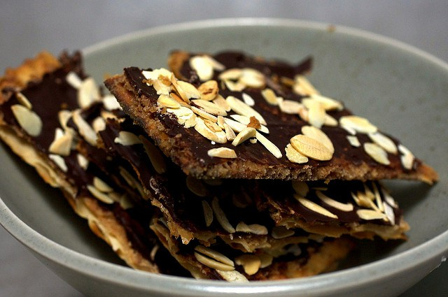 salty toffee crackers.  photo credit:   smitten kitchen