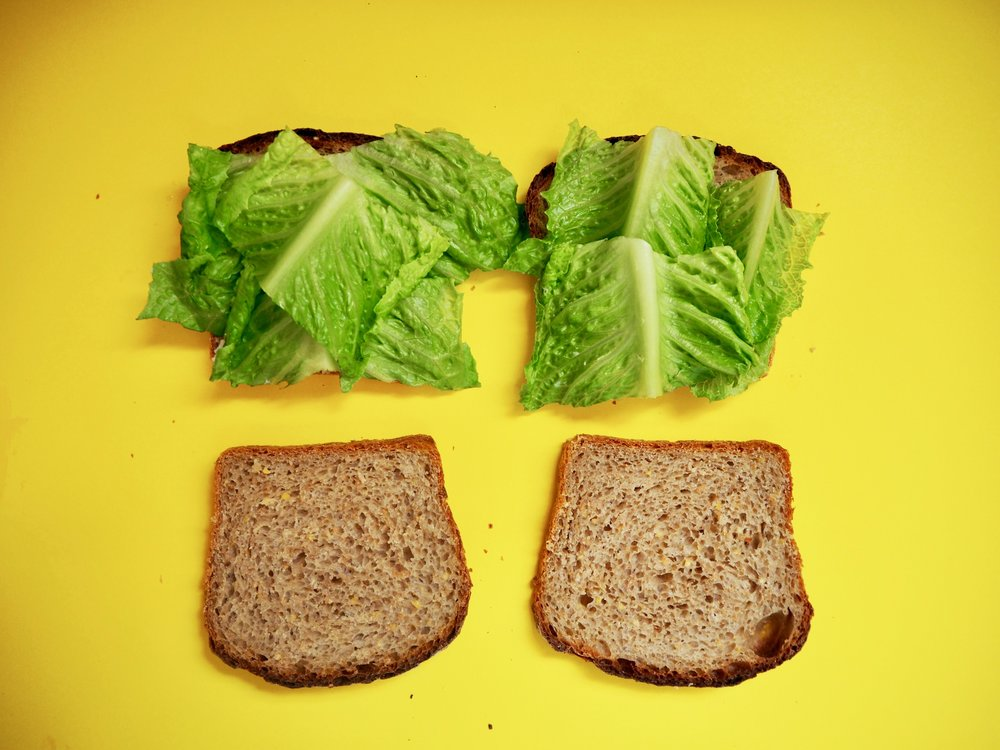 good lettuce and good bread are the groundwork of a good BLT.