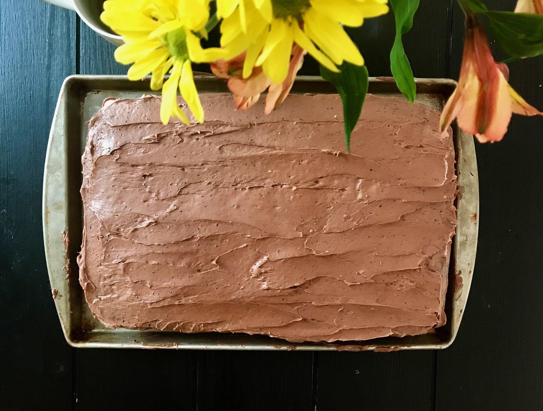 Birthday cake(s) and snow days