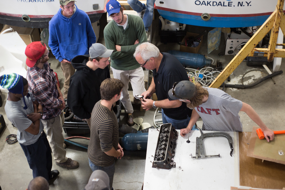 IMAGINE - DESIGN - BUILD - OPERATE   Yacht Design · Wooden Boatbuilding  Composite Boatbuilding · Marine Systems      Explore Programs