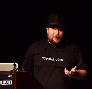 Notch (Official GDC, via Wikimedia Commons)