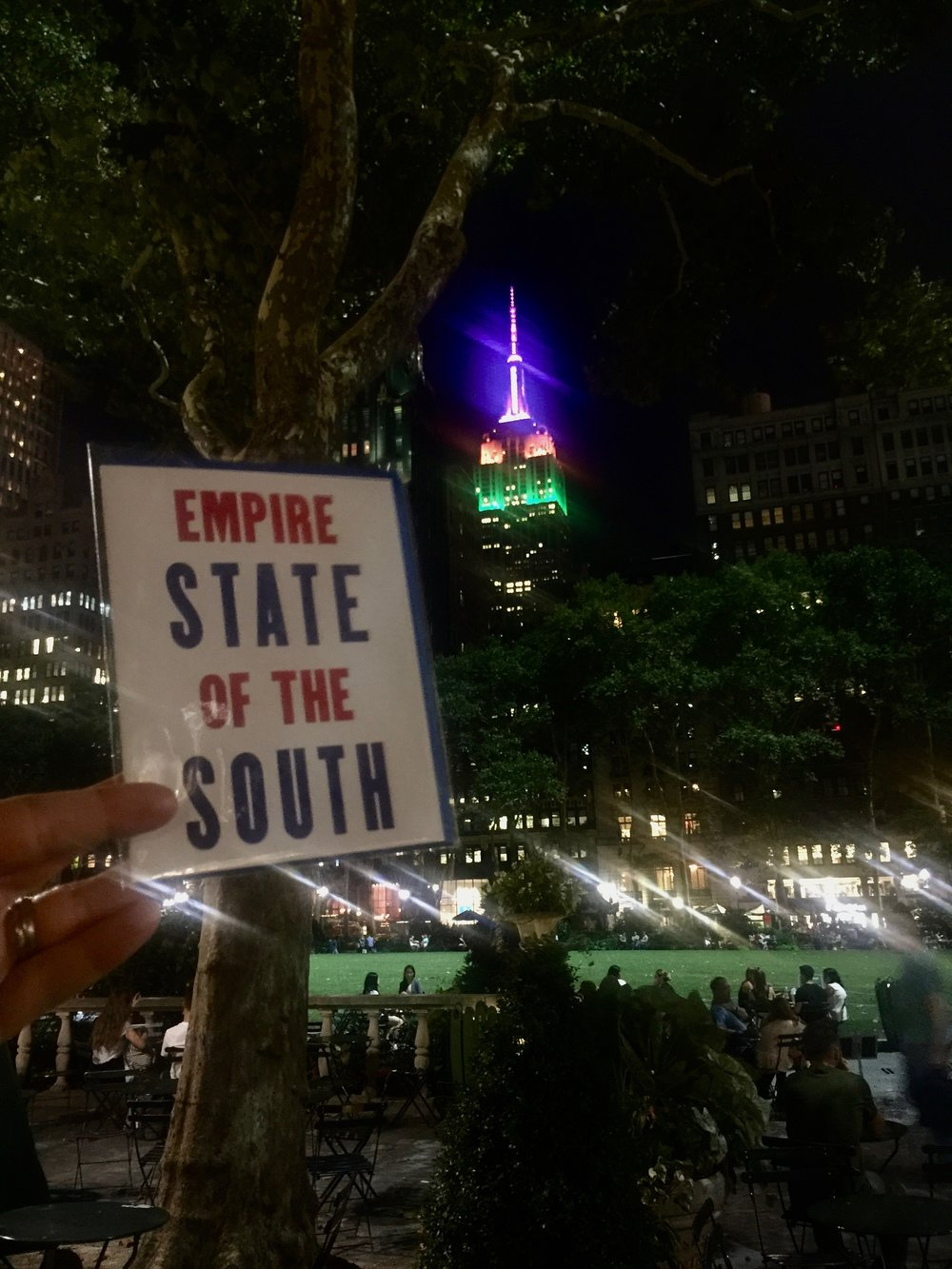 Bringing a bit of the south to the Big Apple with one of our collaboration cards with Old Try