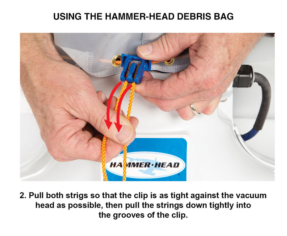 Learn About Hammerhead Pool Cleaners Hammer Head Vacuums Knox Box 3b Wiring Diagram Bag Clip 2b