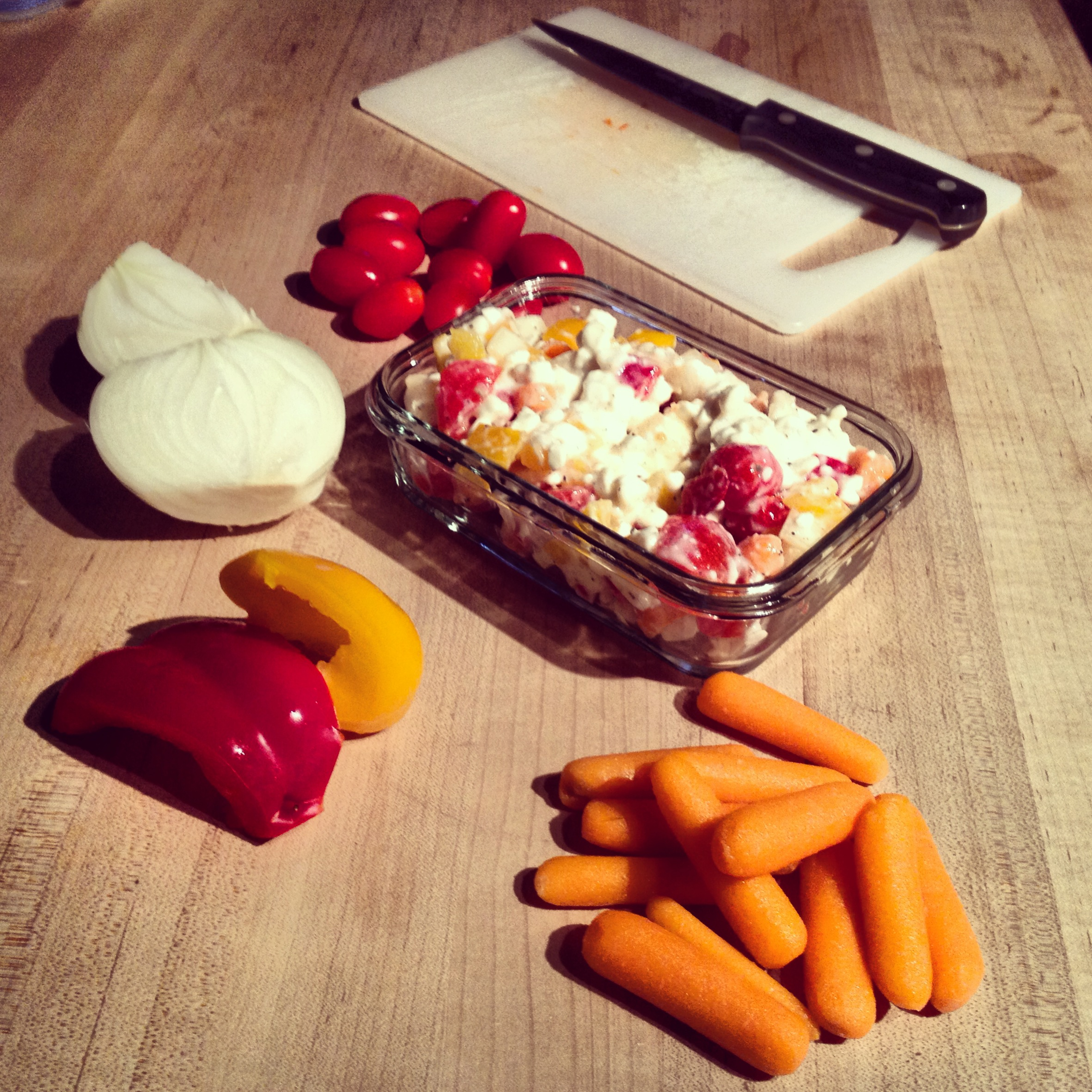 Meal planning for tomorrow: savoury cottage cheese
