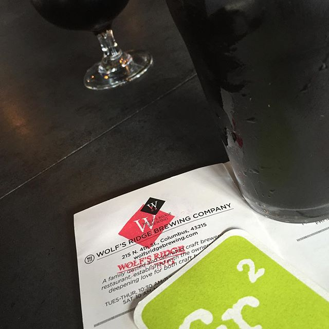#CBusAleTrail complete!  Next stop @theohiotaproom #asseenincbus #beergeek #expcols #drinklocal #centralohiocraftbeer #celebratelocal
