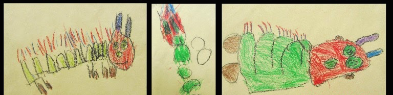 Very Hungry Caterpillar: Authentic art