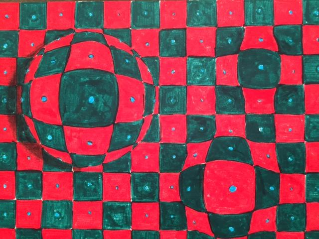 Checkered art.JPG