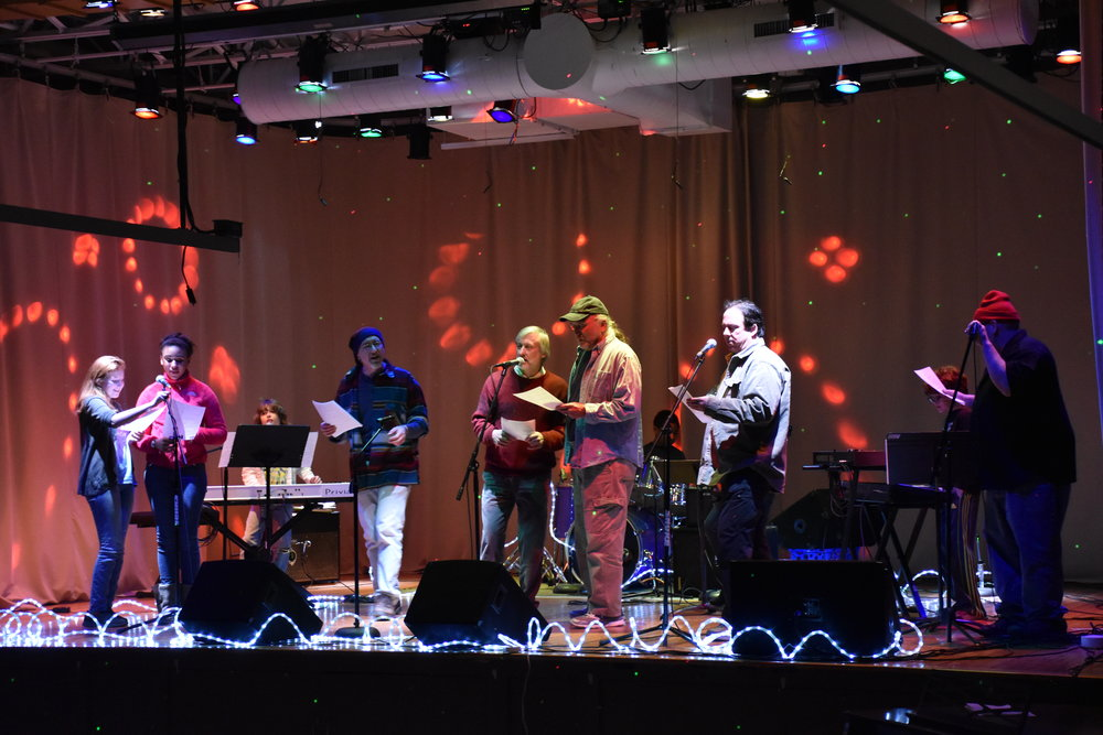 Group on stage open mic.JPG