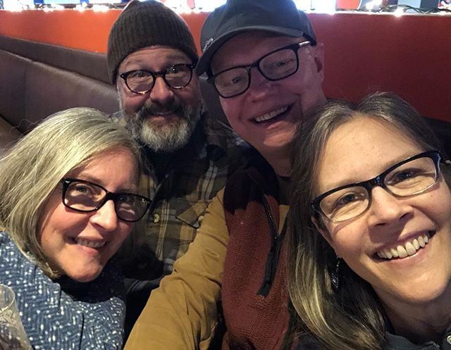 Just a Thursday afternoon in December, with my favorite sister , our hubbies and our eyewear.