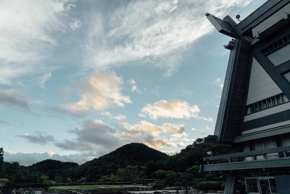 #RubyKaigi の会場 ( #国立京都国際会館 ) #京都