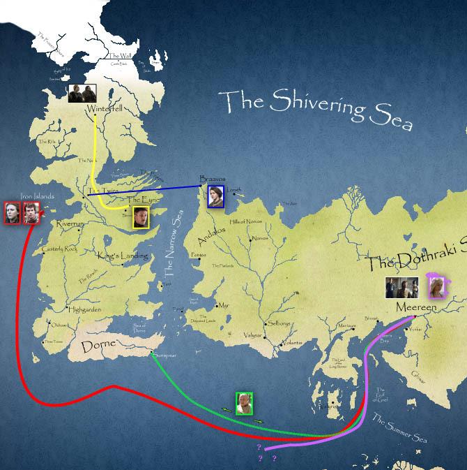 Map courtesy of Wesley Rossenrode