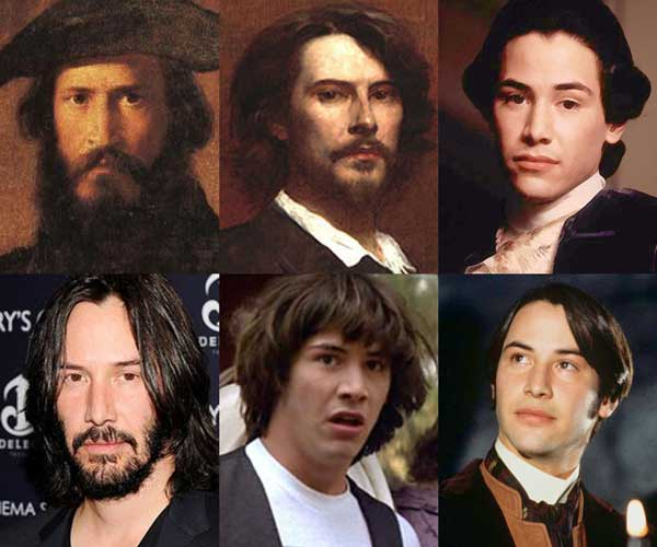 Keanu Reeves: Thespian/Time Traveller