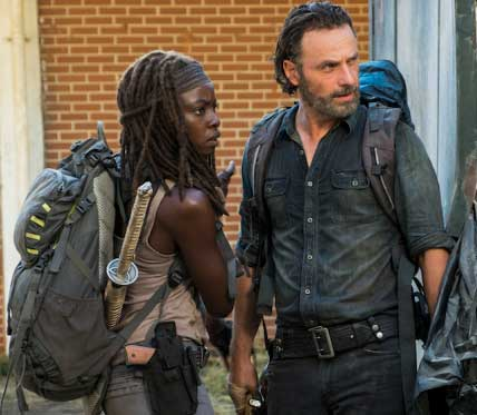 You used to be cool, Michonne.