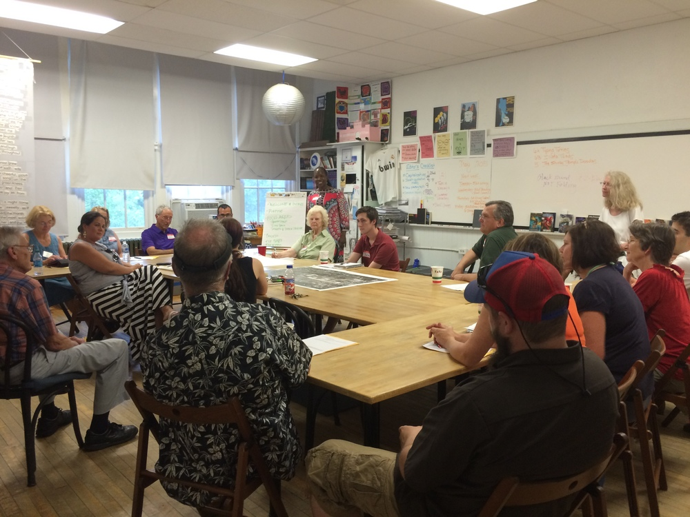 One of five breakout sessions during the May 27 Community Meeting.