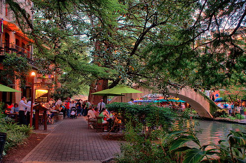 Riverwalk. San Antonio, TX. Photo Credit: Urbanscale.com