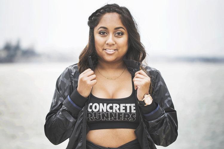 Concrete Runners Founder, Arlynn aka @iamarlynn