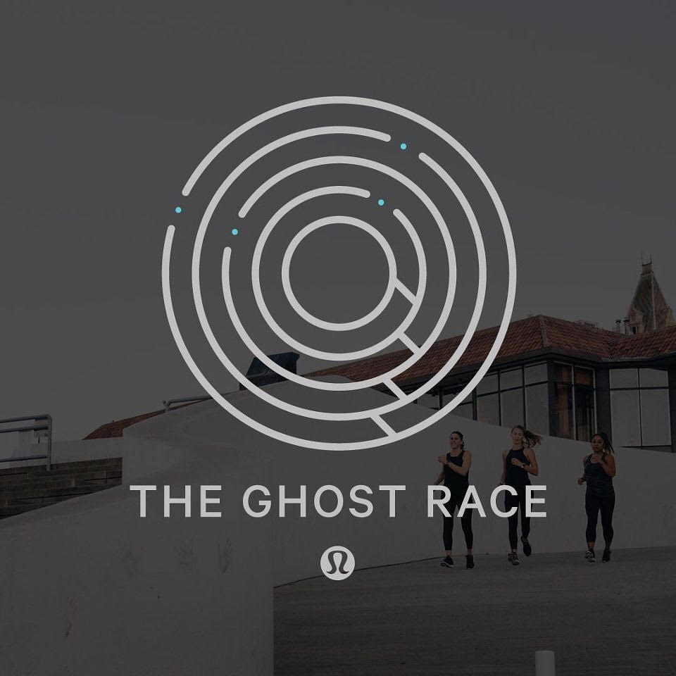 Join Concrete Runners this Thursday 10/19. We'll be joining Run365 for Lululemon's Ghost race! We will be meeting the the Lululemon Store on 327 Grant Ave in San Francisco. Bag Check available and post run refreshments provided by Lululemon.