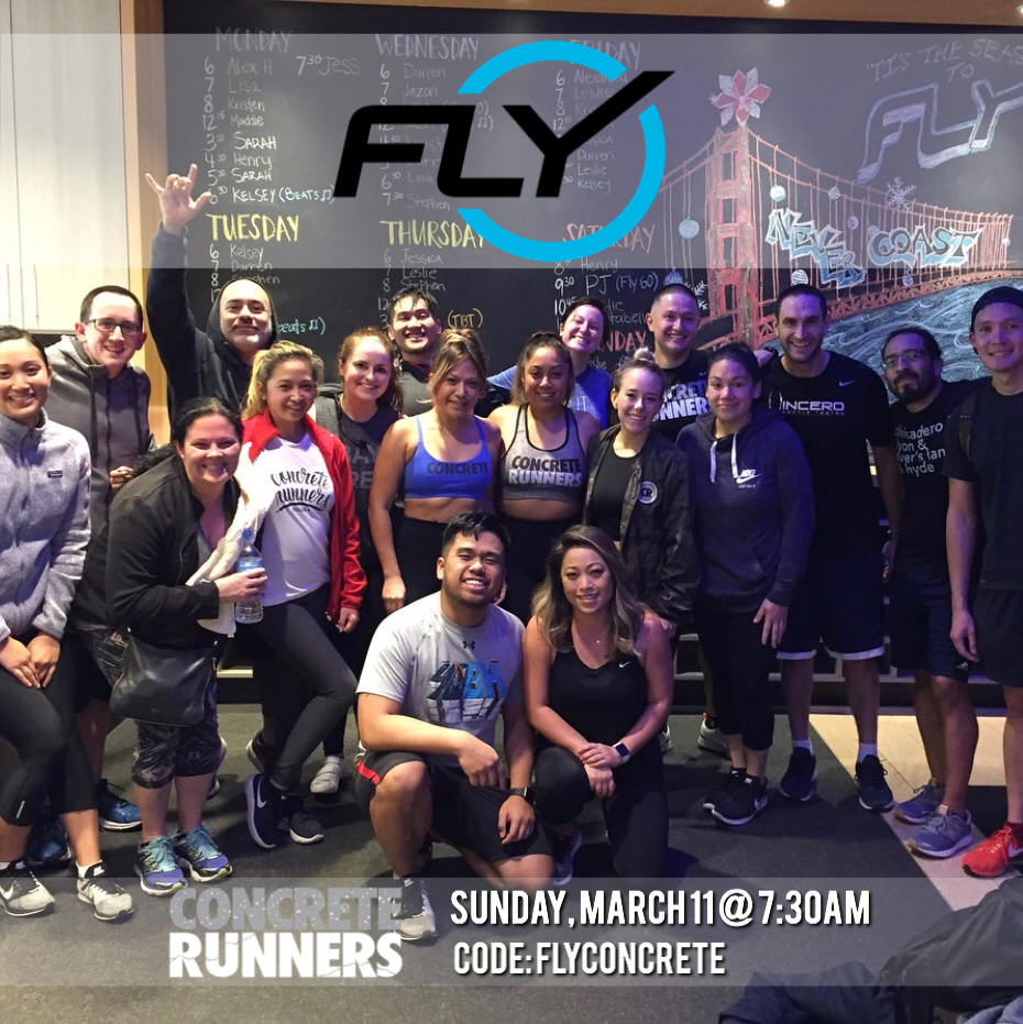 FLY with us at Flywheel Sports Walnut Creek! Code: FLYCONCRETE for your first ride for FREE! Though the ride is FREE we will be accepting $10 donations to reserve your spot. Venmo @claudiag06 - ALL proceeds will benefit Ava's CRew for MDA.