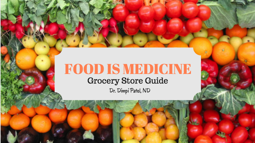 What's Included: - -Printed grocery store guide (full color booklet & space for taking notes during the grocery tour) & class handout-1.5 hour class & one hour Fresh Thyme (Troy, MI) grocery store tour-Private Facebook group invitation for questions & discussion