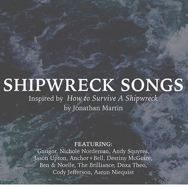 "We are excited to be a part of this. A beautiful book from our friend @jonathanamartin. Check out ""How To Survive A Shipwreck"" and go to his bio to receive this free compilation album."