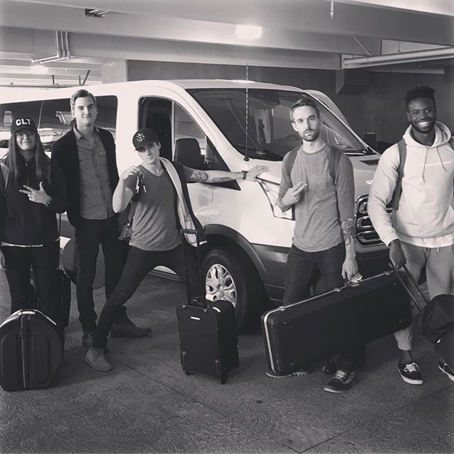 Made it to Silicon Valley. We'll be rolling in a 15 passenger van this weekend. #doxatheo #sanjose #siliconvalley #thegospelpatrons