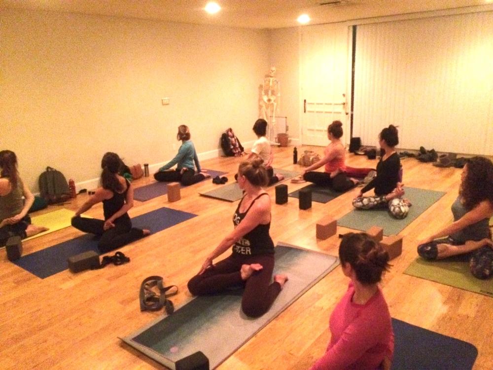200hr Yoga Teacher Trainees