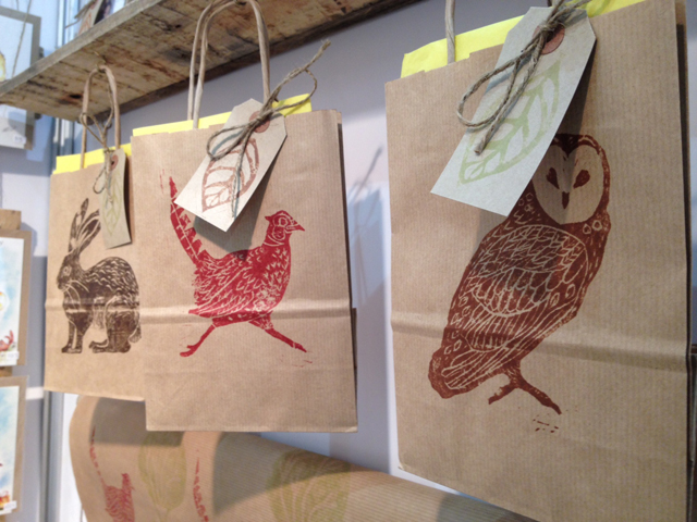 Hand Printed Bags
