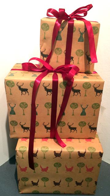 Luxury Stag Gift Wrap & Luxury Stag Gift Wrap u2014 Cath Ward