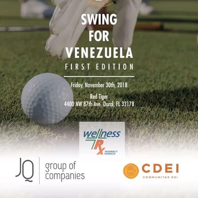 Hoy queremos darles las gracias a otro de nuestros  patrocinantes que no solo se sumó a l grupo de empresarios que están apoyando nuestra 1era. Edición del Torneo de #golf #swingforvenezuela 2018, sino que durante todo el año ha sido uno de los PADRINOS, de los programas de ayuda de @fundacion_cdei en #venezuela 🇻🇪 A pesar de no ser Venezolano, es una de esas empresas que se solidarizan con nuestra realidad y aportan @ungranodearena con lo que mejor saben hacer 🆘💉💊🌡🏥 #RX WELLNESS Pharmacy #health #medicine #pharmacy ——————— GRACIAS a nuestra cadena de voluntarios por unirse y trabajar en equipo por una misma causa👏🙏. Gracias @ronaidizamora @proyectoninosdelaselva @teachermonicaporvenezuela #comiteaccionvenezuela #unabrazoenladistancia ——————— Si quieres ayudarnos APADRINANDO UN NIÑO O UN PROGRAMA, visita: CDEIMIAMI.ORG Y puedes conocer a los proyectos con los que colaboramos: @proyectoninosdelaselva @fundaleucemia @fundacionflordelaesperanza @ungranodearena @boxeoruza @tupaisfoundation  #sponsorachild