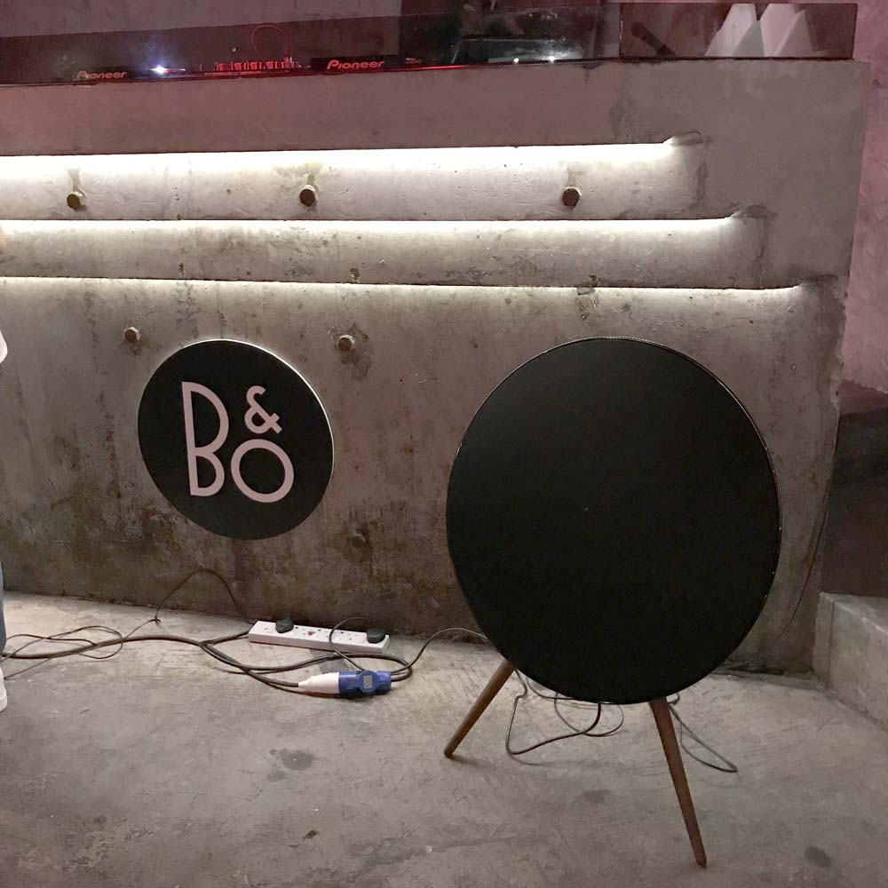 B&O Event launch