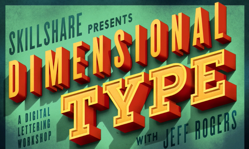 Digital Lettering: Designing 3D Type and Texture
