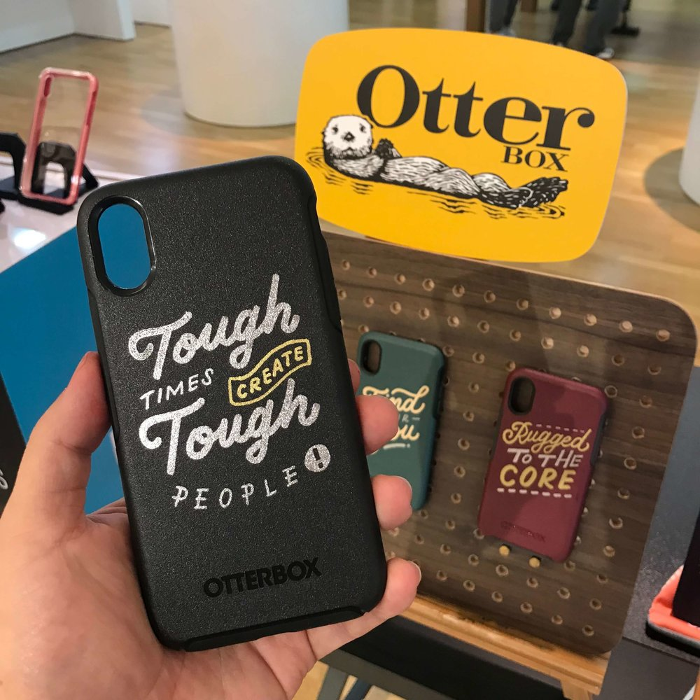 Phone customization for Otterbox Asia, Singapore by EJTEE