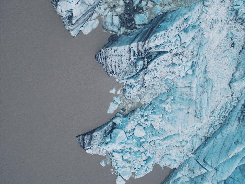 svínafellsjökull, Iceland