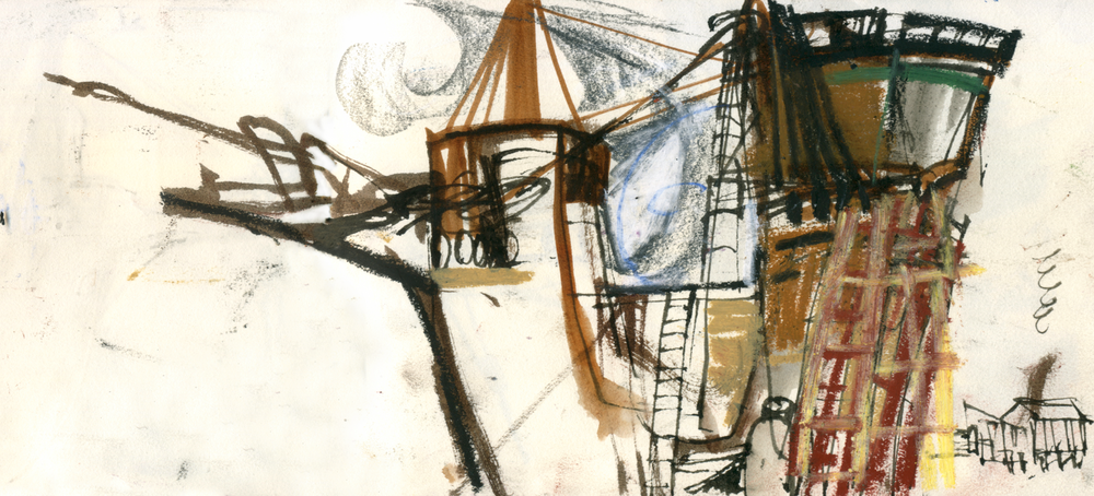 Mayflower II, Mystic Seaport, CT, 2015