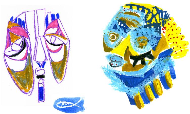 Yellow Perch Bluegill Sunfish