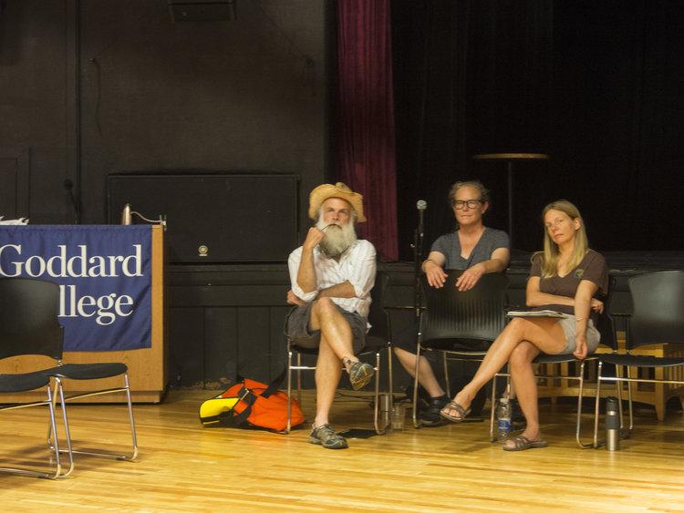 Goddard advisors; Peter Hocking, Rachel Van Fossen, and Erica Eaton.