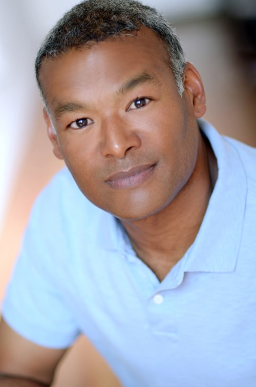 Headshot of male actor