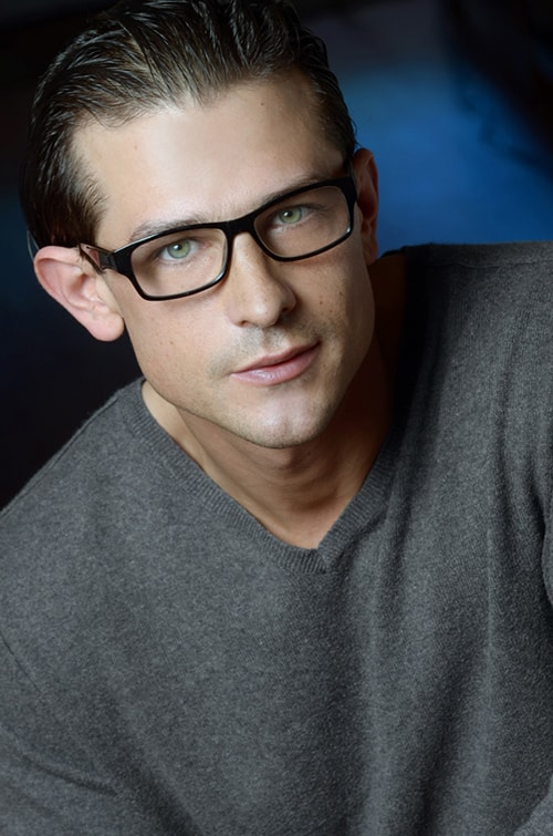 Headshot in Glasses